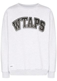 WTAPS logo-print sweatshirt