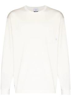 WTAPS long-sleeve cotton sweatshirt