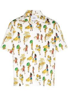WTAPS Sly graphic-print short-sleeve shirt