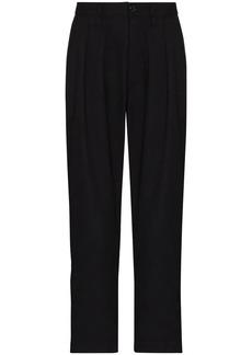 WTAPS Tuck dart-detailing trousers