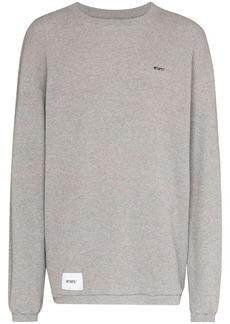 WTAPS waffle-knit cotton T-shirt