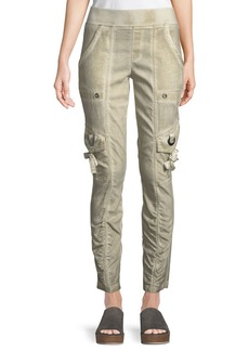 XCVI Adela Summer-Twill Cargo Pants