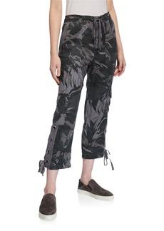 XCVI Camo Foliage Cargo Pants