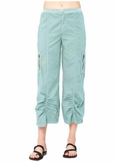 XCVI Cavan Crop Pants in Stretch Poplin