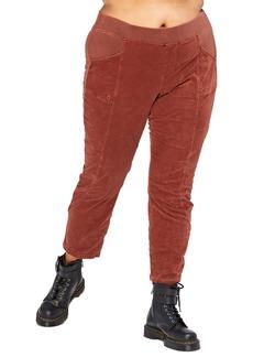 XCVI Dalia Pull-On Stretch Corduroy Slim Pants (Plus Size)