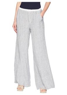 XCVI Ebba Linen Pinstripe Pants