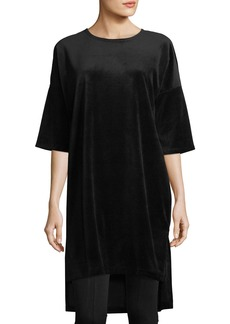XCVI Fulton Velour High-Low Tunic