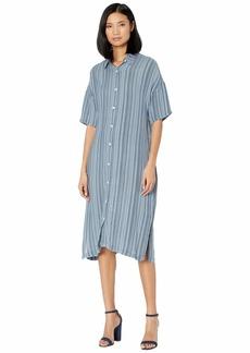 XCVI Gael Shirtdress in Striate Cotton Stripe