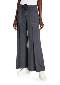 XCVI Holden Wide-Leg Utility Pocket Pants