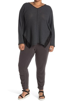 XCVI Huckle Ruched Ankle Crop Leggings