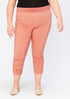 XCVI Jetter Ruched Crop Leggings