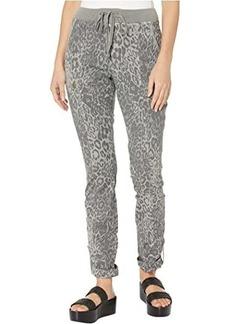 XCVI Leopard Crop Pants in Lynx Printed Poplin