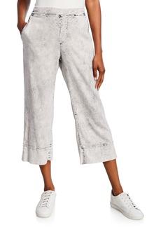 XCVI Maja Wide-Leg Cropped Pants