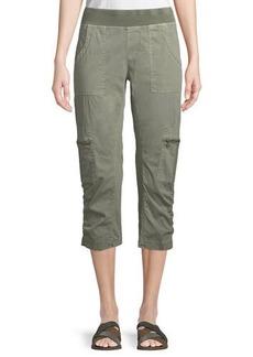 XCVI Nadia Cropped Cargo Pants