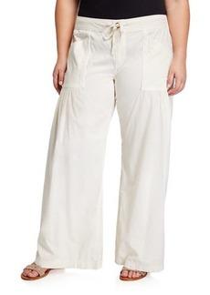 XCVI Plus Size Willow Wide-Leg Pants