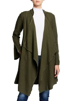 XCVI Relaxed Wool-Blend Overcoat