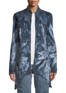 XCVI Subira Tie-Dye Handkerchief Jacket