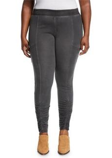XCVI Tallula Ruched Legs Pleated Pants