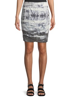 XCVI Tammy Tie-Dye Wash Skirt