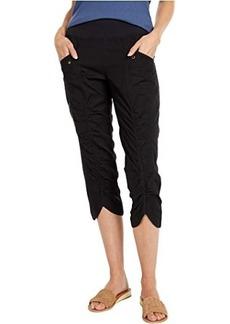 XCVI Wearables Iris Crop Pants in Stretch Poplin