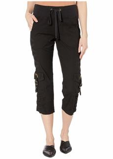 XCVI Wearables Variete Crop Pants in Stretch Poplin