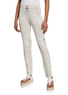 XCVI Woodman Ruched Jersey Pants