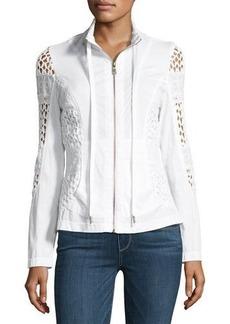 XCVI Albia Lace-Inset Jacket