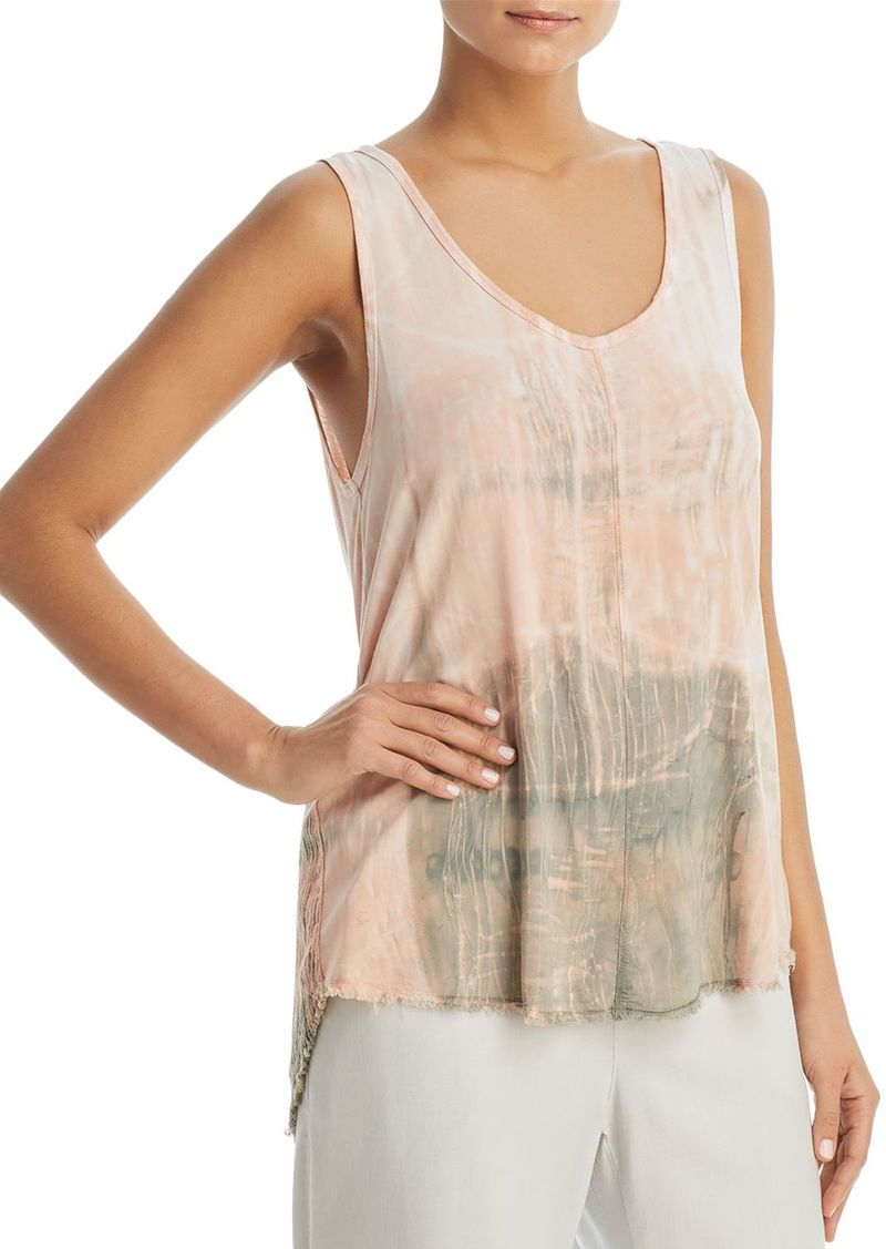 Shopping Online Nerys Mixed-Media V-Neck Tank Xcvi Store Online Best Place Cheap Price Clearance Pick A Best 2heG01