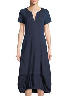 XCVI Delphina Elastic-Hem Midi Dress