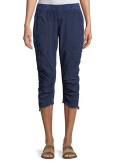 XCVI Dorris Zip-Pocket Crop Pants