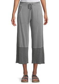 XCVI Esposita Cropped Knit Pants