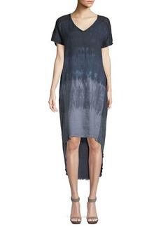 XCVI Harmony Tie-Dye High-Low Dress