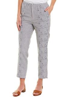 Xcvi Linen-Blend Trouser