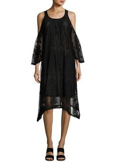XCVI Risette Semisheer Lace Dress