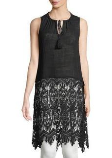XCVI Selene Cocoon-Gauze Dress