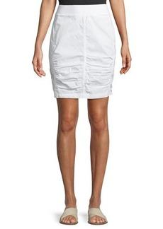 XCVI Tammy Lace Up Wash Skirt