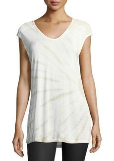 XCVI Valeria Tie-Dyed Top