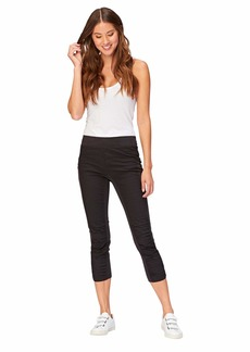 XCVI Wearables Women's Jetter Crop Legging - Stylish Cropped Pants -  Extra Large