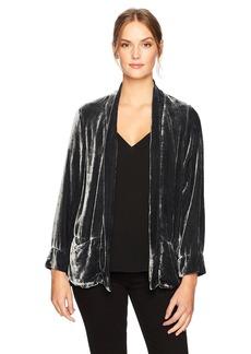 XCVI Women's Nova Jacket-Silk Rayon Velvet  Extra Large