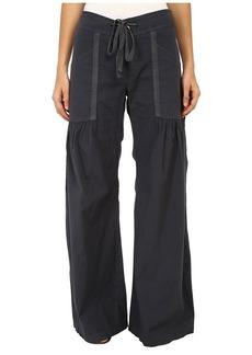 XCVI Women's Willowy Wide Leg Stretch Poplin Pant  Pants MD (Women's ) X 32