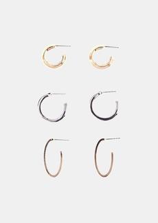 XOJulez Bea Pack Of 3 Earrings