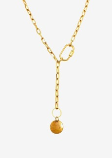 XOJulez Lucky Side Lock Y Necklace