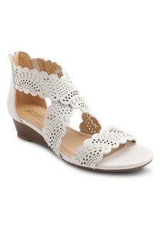 XOXO Amarissa Perforated Wedge Sandal