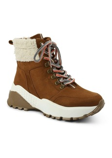 XOXO Cristal Faux Fur Hiking Boot
