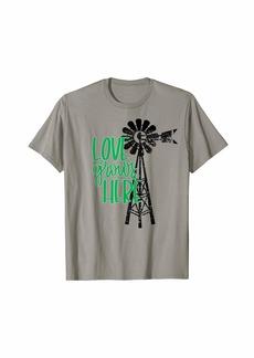 XOXO Farmhouse Love Grows Here Cute Windmill Shirt