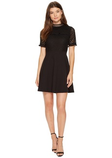 XOXO Mixed Lace Skater Dress