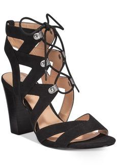 Xoxo Barnie Lace-Up Sandals Women's Shoes