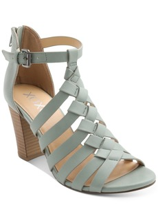 Xoxo Baxter Strappy Block-Heel Sandals Women's Shoes