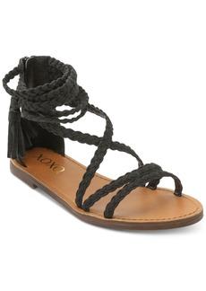Xoxo Cancun Braided Flat Sandals Women's Shoes