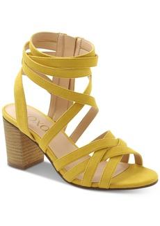 Xoxo Eden Block-Heel Dress Sandals Women's Shoes